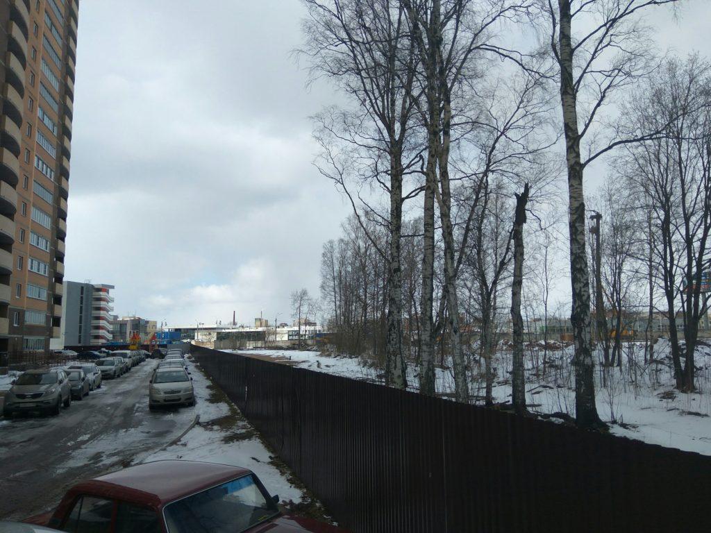 ЖК Суворов стройка