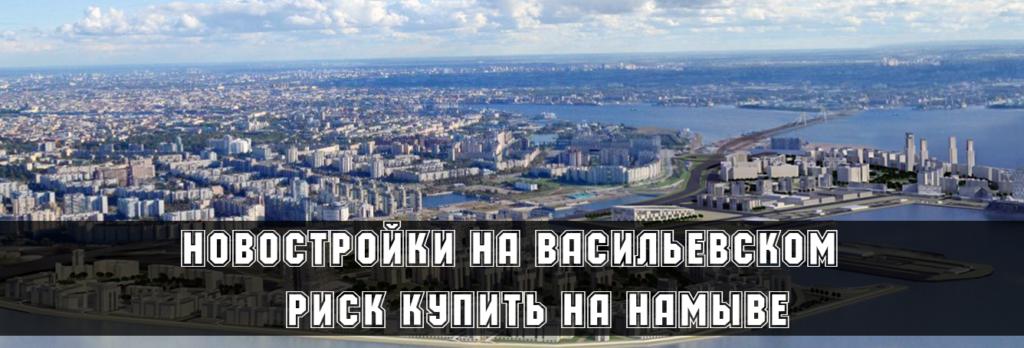 Новостройки на Васильевском