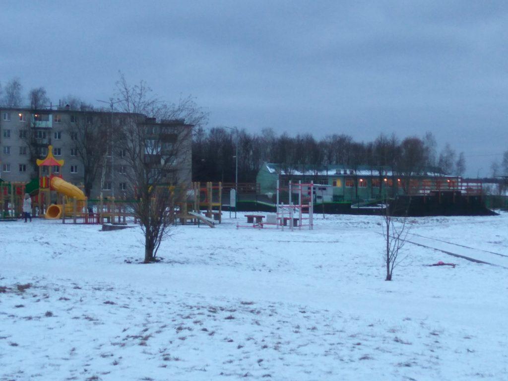 Спортплощадка в Аннино